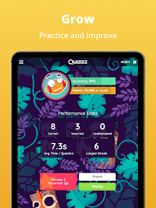 screenshot of Quizizz: Quiz Games for Learning version 3.2