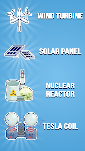 screenshot of Reactor - Idle Tycoon. Energy Business Manager. version 1.64.20