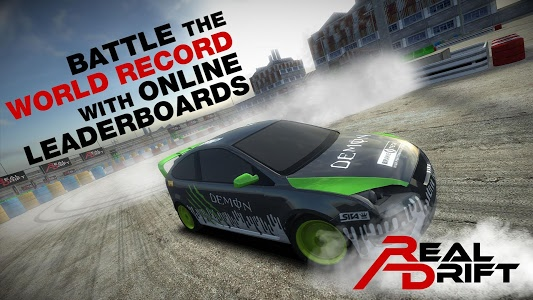 screenshot of Real Drift Car Racing Free version 4.0