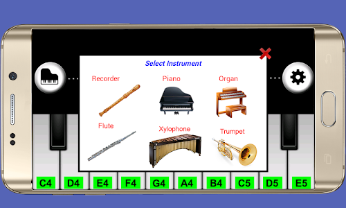 screenshot of Real Piano Teacher 2 version 2.1