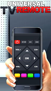 screenshot of Remote control for TV and home electronics version 1.0