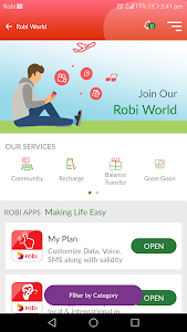 screenshot of My Robi version 4.6.15