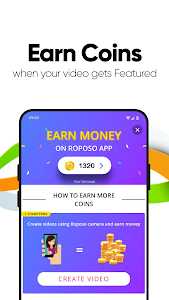 screenshot of Roposo - India's own video app version 6.14.5.7