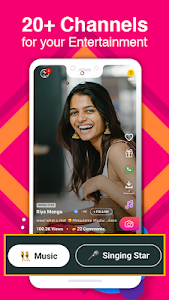 screenshot of Roposo - Video Status, Earn Money, Friends Chat version 6.10.0.0