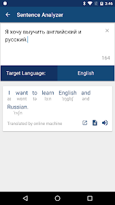 screenshot of Russian English Dictionary & Translator Free version Varies with device