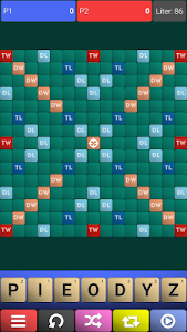 screenshot of SCRUBBLE - word game version 1.1