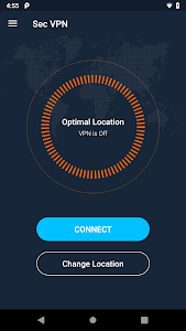 screenshot of Secure VPN - Unlimited Free & Super VPN Proxy version 1.4.122