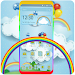 Download Simple White Cloudy Rainbow Theme 1.1.2 APK