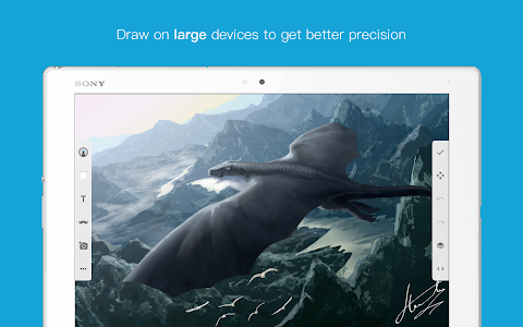 screenshot of Sketch - Draw & Paint version Varies with device