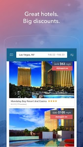 screenshot of Skiplagged — Exclusive Flights & Hotels version Varies with device