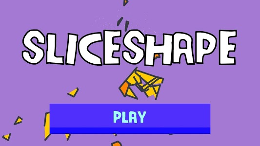 screenshot of SliceShape - How many times can you cut a shape? version 0.6