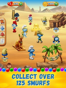 screenshot of Smurfs Bubble Shooter Story version 2.08.17838