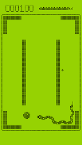 screenshot of Snake Xenzia version 2.0