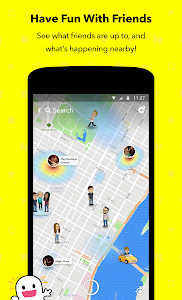 screenshot of Snapchat version 10.56.0.0