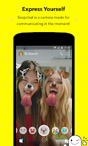 screenshot of Snapchat version 10.54.5.0