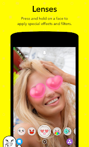 screenshot of Snapchat version 9.33.1.0