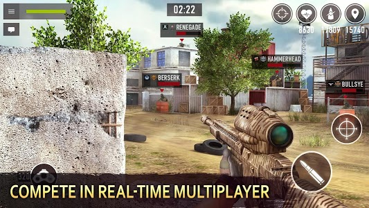 screenshot of Sniper Arena: PvP Army Shooter version 1.0.0