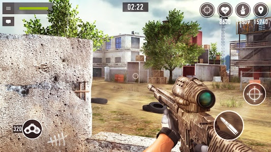 screenshot of Sniper Arena: PvP Army Shooter version 0.7.4