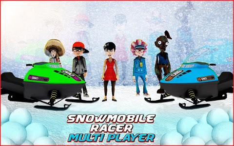 screenshot of Snowmobile Racer Multiplayer version 0.0.2