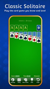 screenshot of Solitaire version 2.1
