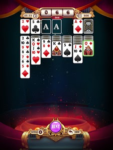 screenshot of Solitaire : Steam Age version 1.1