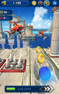 screenshot of Sonic Dash version 4.1.0