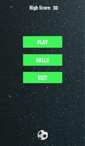 screenshot of Space Ball version 0.2