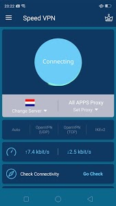 screenshot of Speed VPN-Fast, Secure, Free Unlimited Proxy version 3.0.0