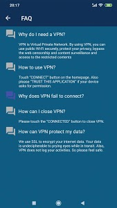 screenshot of Speed VPN-Fast, Secure, Free Unlimited Proxy version 2.1.5