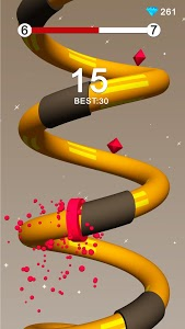screenshot of Spiral Donuts version 1.0