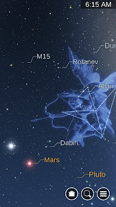 screenshot of Star Chart version Varies with device