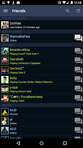 screenshot of Steam version 2.3.10