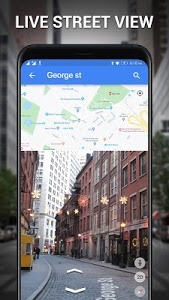 screenshot of Street View - Earth Map Live, GPS & Satellite Map version 1.0.5