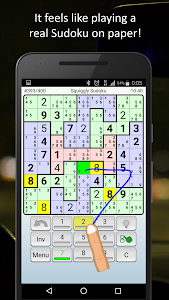 screenshot of Sudoku version 1.027