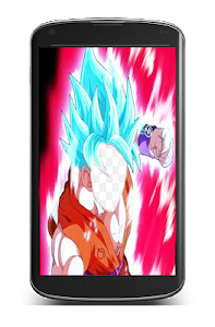 screenshot of Super Saiyan Blue DBS Goku Photo Frames version 1.02