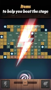 screenshot of Swipe Brick Breaker: The Blast version 1.0.11