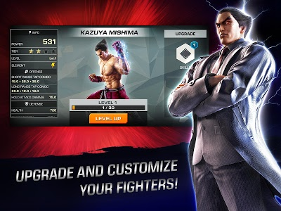 screenshot of TEKKEN™ version 1.4.1