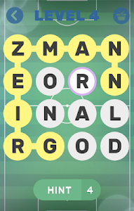 screenshot of TOP100 Soccer Stars - Word Search Puzzle Game version 1.2.9z