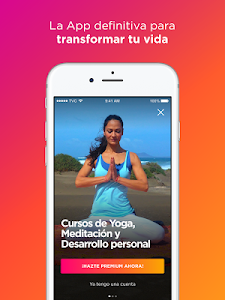 screenshot of TV Consciente - Clases de Yoga y Meditación version 1.0