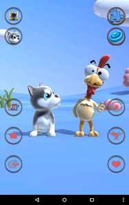 screenshot of Talking Puppy And Chick version 1.1.0
