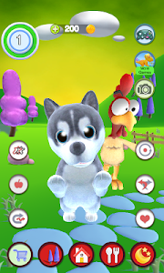 screenshot of Talking Puppy And Chick version 1.22