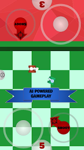 screenshot of Tanks 3D for 2 players on 1 device - split screen version 0.6