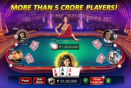 screenshot of Teen Patti Gold - With Poker & Rummy version 4.44