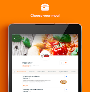 screenshot of Thuisbezorgd.nl - Order food online version Varies with device