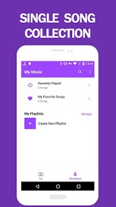 screenshot of Touch Music - Free Unlimited Music Video Player version 5.9.003