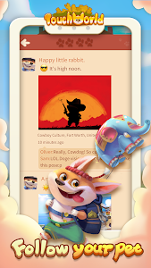 screenshot of Touch World - Puppy Idle Game version 1.12.12637