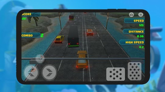 screenshot of Traffic Over Drive version 1