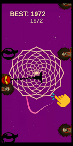 screenshot of Trippy Trail version 5