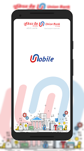 screenshot of U-Mobile - Union Bank of India version 5.1.0