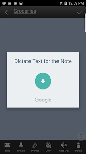 screenshot of Ultimate Notepad version Varies with device